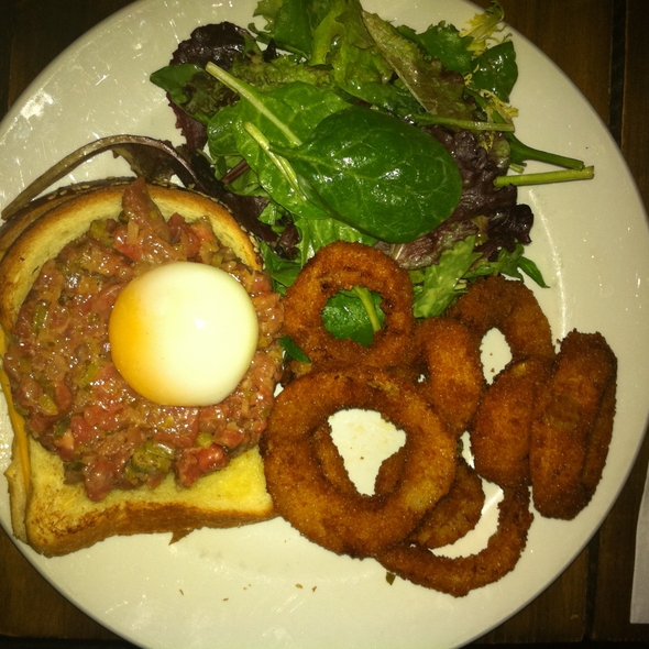 Tartare De Boeuf @ Greasy Spoon