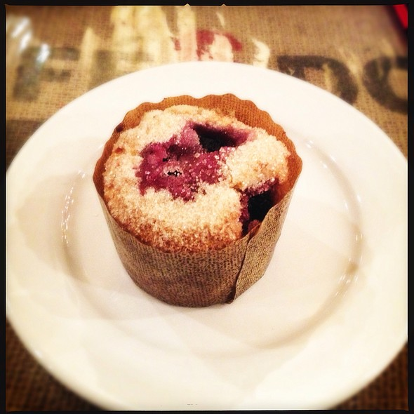 Blueberry Muffin @ Kean Coffee