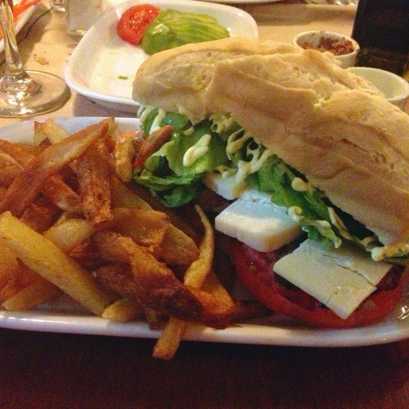 Sandwich Clasique @ Restaurante Normandie