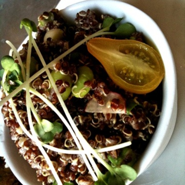 Red Quinoa With Edamame @ St Francis