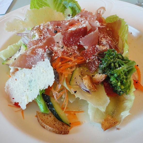 Prosciutto Caesar's Salad: Romaine lettuce,parmesan and prosciutto served with Mimasuya Caesar's dressing @ Mimasuya Italiano of Kyoto