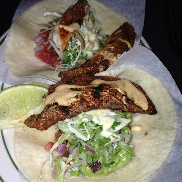Blackened Mahi Tacos - Pink Taco - Sunset, West Hollywood, CA