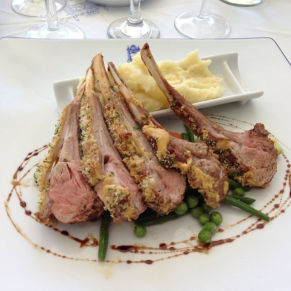 Rack of Lamb @ El Minzah Hotel