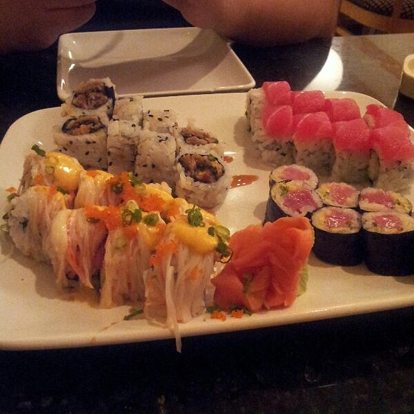 Assorted Sushi Rolls  @ Hana Yori Japanese Restaurant