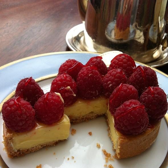 Tartelette Framboises et Crème à la Pistache