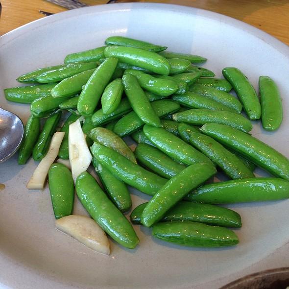Snap Peas @ The Slanted Door