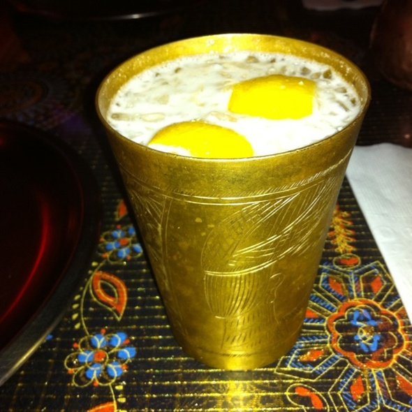 Lemon Lassi @ Cafe Maharani