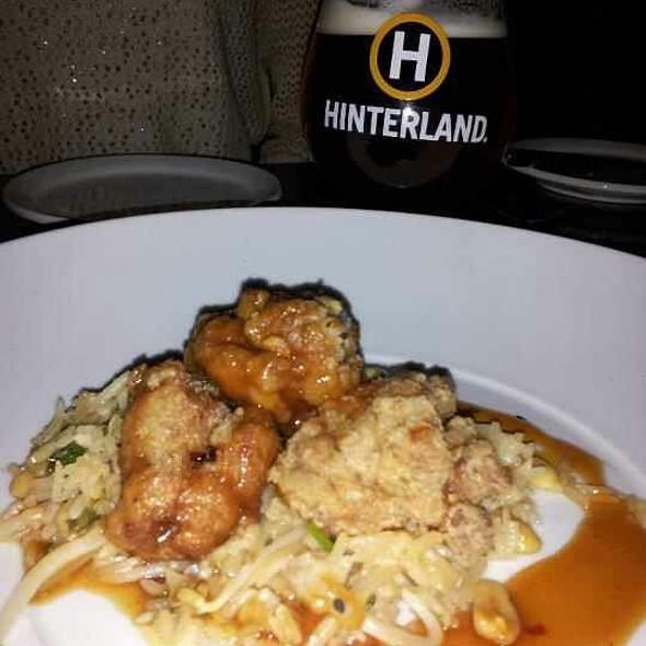 Kung Pao Veal Brain - Hinterland Erie Street Gastropub, Milwaukee, WI