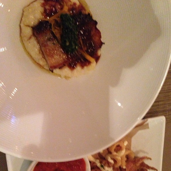 Pork Belly - Aria Tuscan Grill, Charlotte, NC