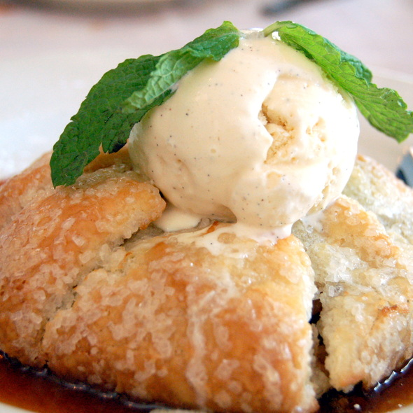 Apple Crostada @ Maggiano's Little Italy