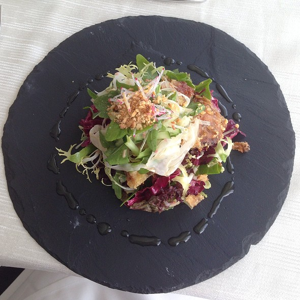 Tempura Fried Soft Shell Crab Salad @ Sky on 57