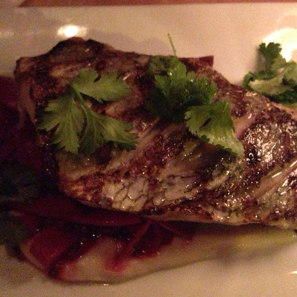 Sea Bream W/ Veggies @ Market Table