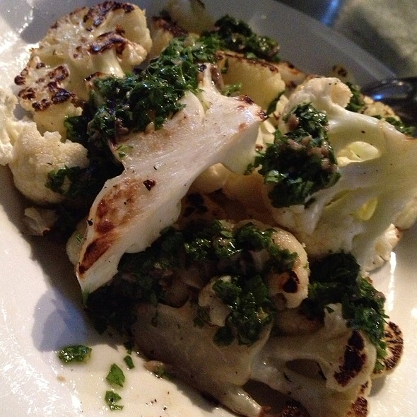 Grilled Cauliflower @ St. Vincent