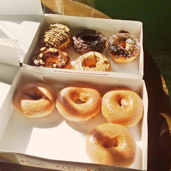 Assorted Doughnuts @ Krispy Kreme Doughnuts