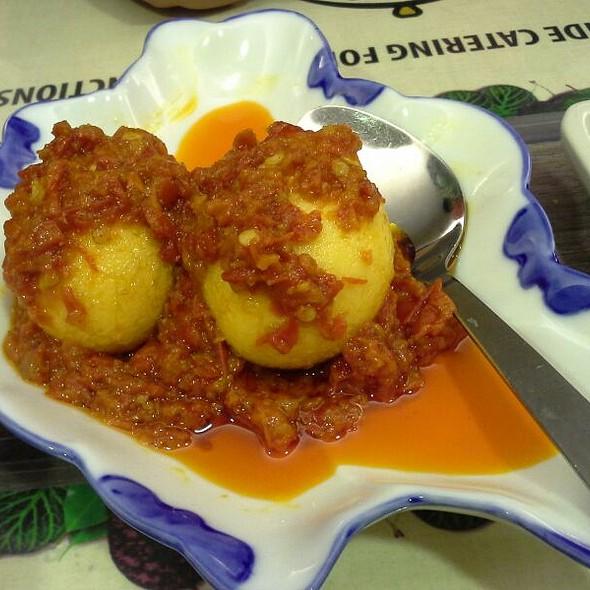 Telur Balado @ Pondok Sari Wangi Restaurant@ Citisquare