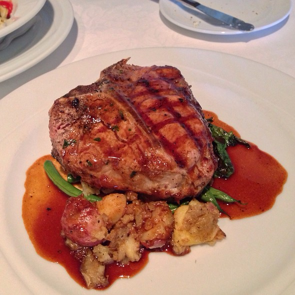 Grilled Veal Chop - Terra Restaurant, Thornhill, ON