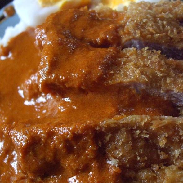 Pork Loin Cutlet Panang Curry @ Baratie