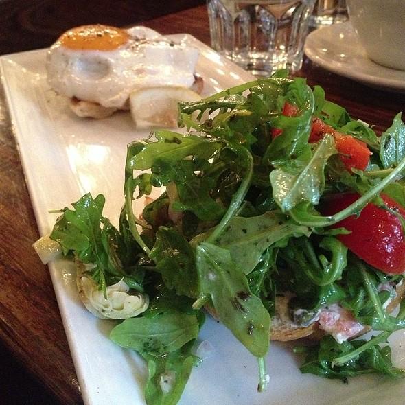 Salmon Fume @ Medina Cafe