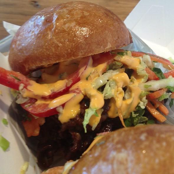 'The Ninja' Burger @ Krush Burger Restaurant