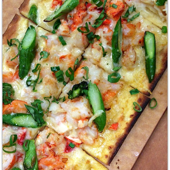 Lobster and Shrimp Flatbread  - Grille 29, Huntsville, AL