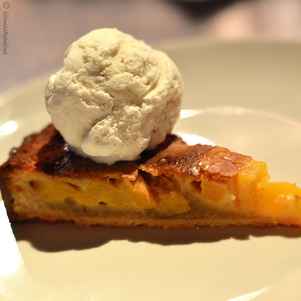Mango & Brown Butter Tart - Town, Honolulu, HI
