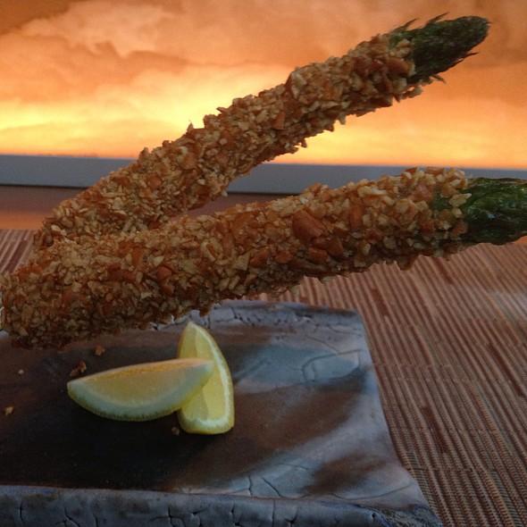 Megu Original Crispy Asparagus