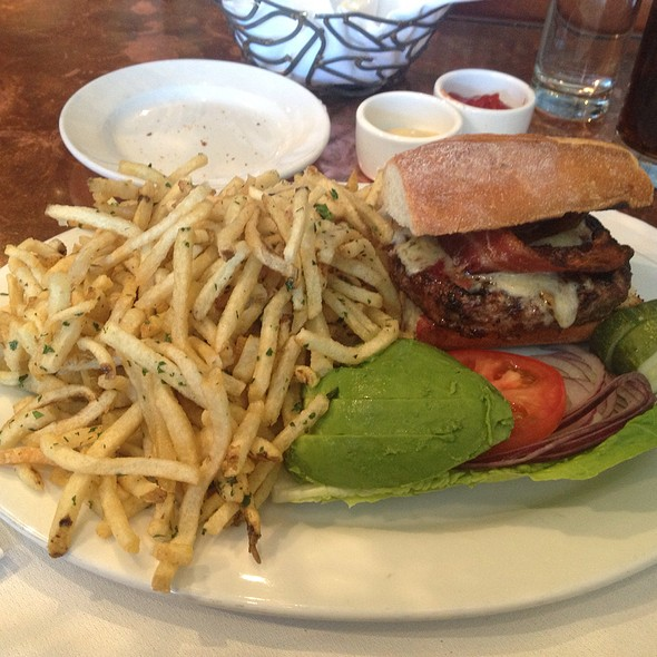 Niman Ranch Burger & Fries - Wood Tavern, Oakland, CA