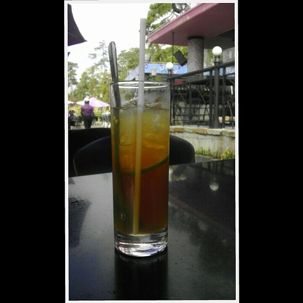 Lime juice with honey @ Bluewater Restaurant