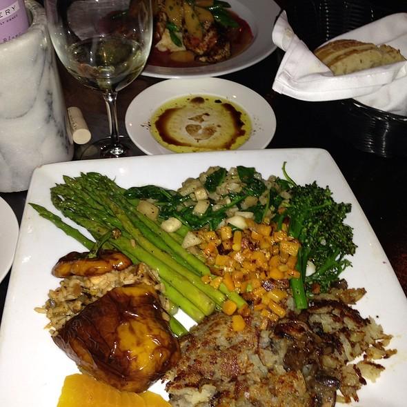 Vegan Plate - G. Michael's Bistro & Bar, Columbus, OH