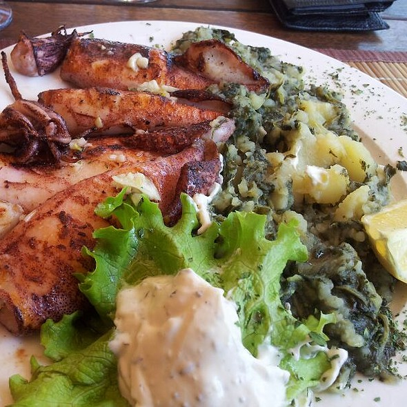 Grilled Adriatic Squid  @ Xxl Grill