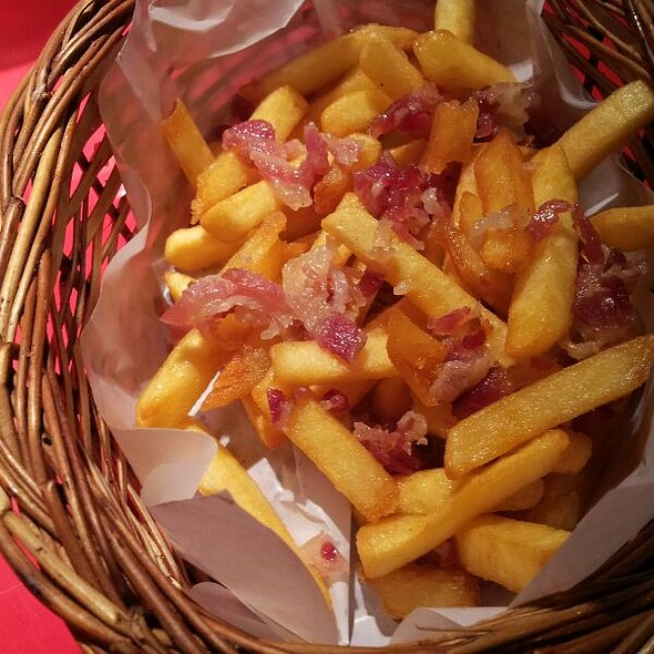 Bacon Fries @ Between Breads
