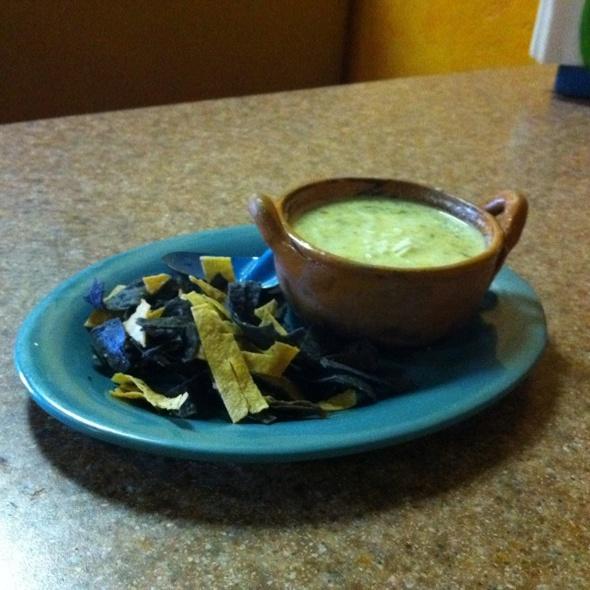 Poblano Soup @ Mexico's Deli