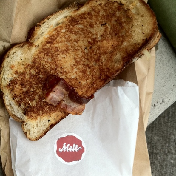 Bacon Melt @ Melt Honolulu Truck