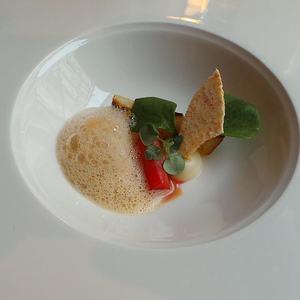 Celery, Rhubarb, Shellfish Bisque @ Agata's Restaurant