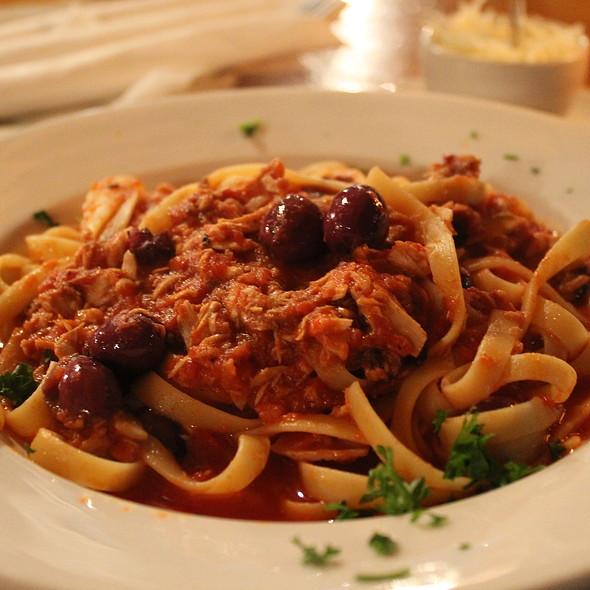 Pasta With Tuna @ Caffe Mario