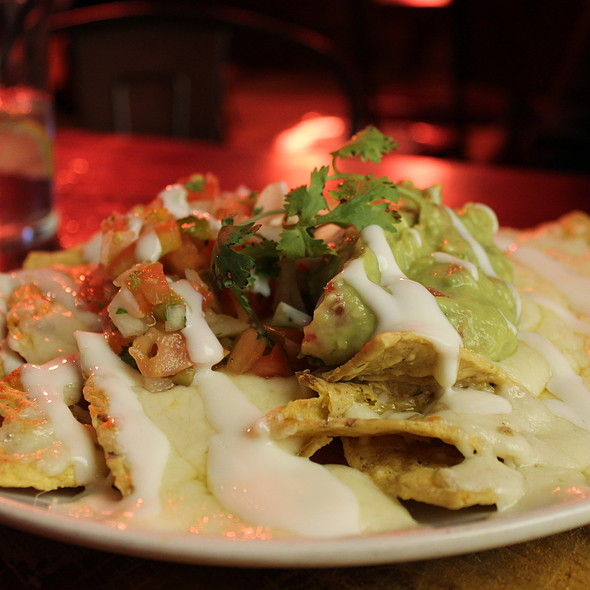 Nachos With Cheese And Guacamole @ The Fat Cactus Gardens