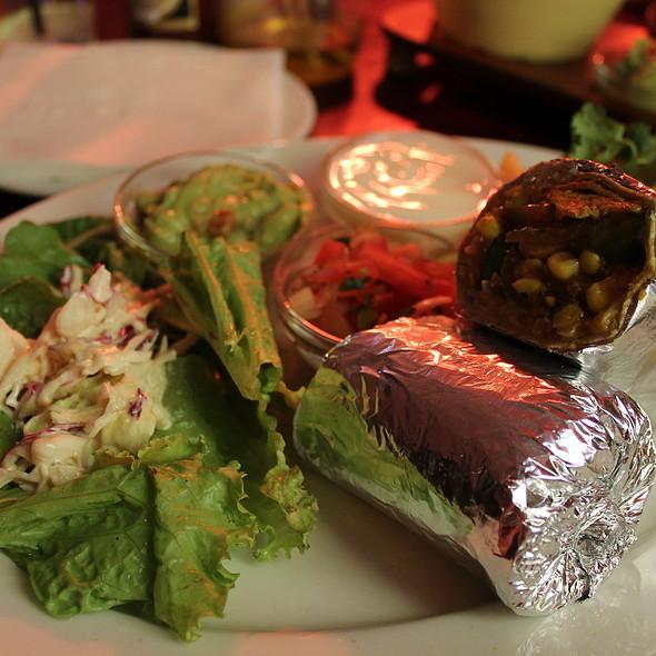 Veggie Burrito @ The Fat Cactus Gardens