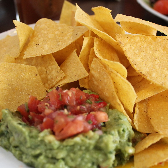House Nachos With Guacamole @ Santa Maria