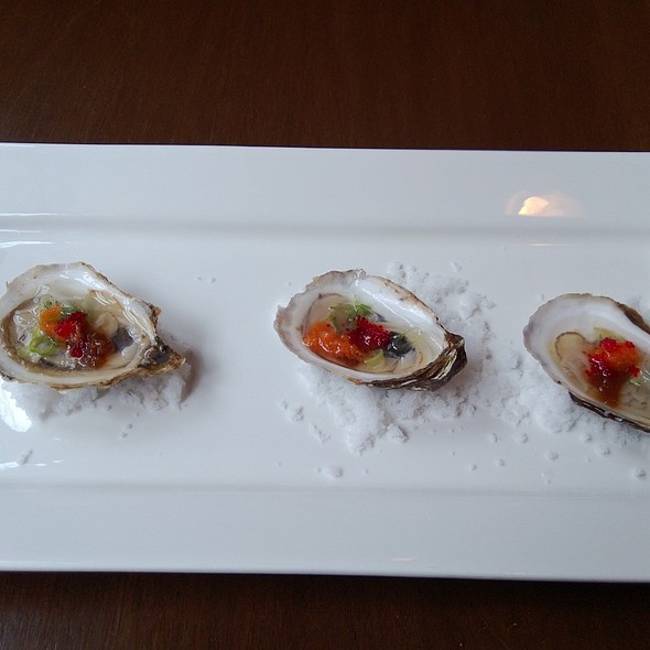 Oysters on the Half Shell @ Yuzu Sushi and Sake Bar