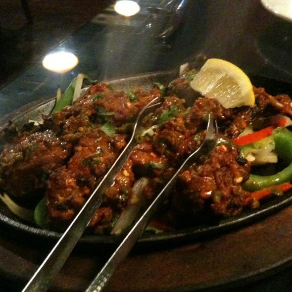Lamb Chops @ Namaste Indian Cuisine & Bar