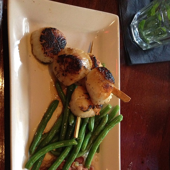 blackened scallops - Mitchell's Fish Market - Cincinnati (West Chester), West Chester, OH