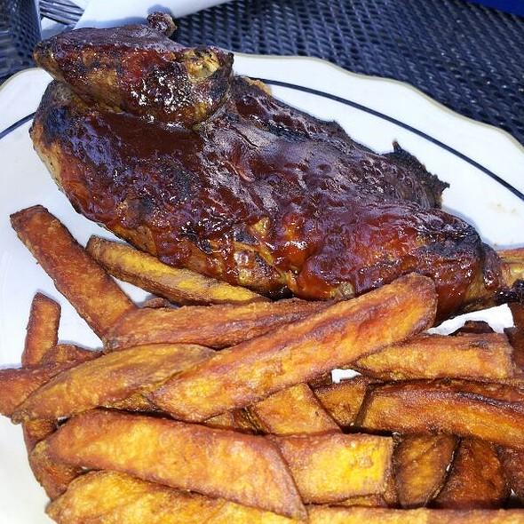 Applewood Smoked Half Chicken  @ The City Lounge