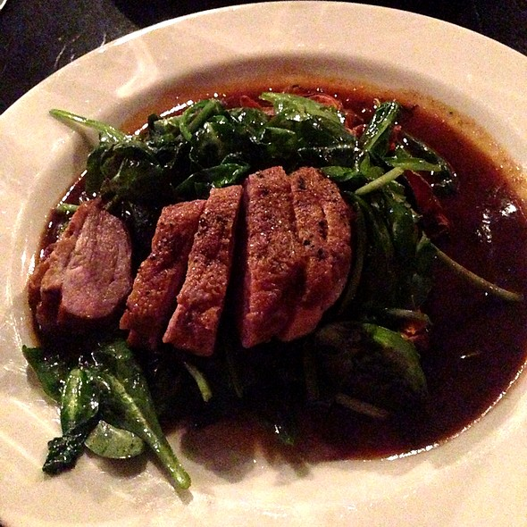 pan seared duck breast - Margaux's Restaurant, Raleigh, NC