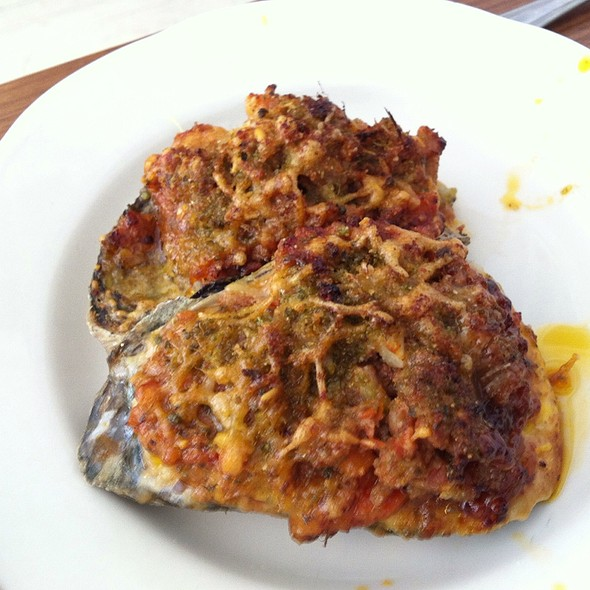 Oysters Bolognese @ M. Wells Dinette