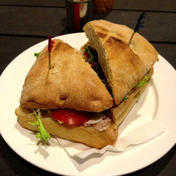 Foodspotting for Tuna and egg sandwich