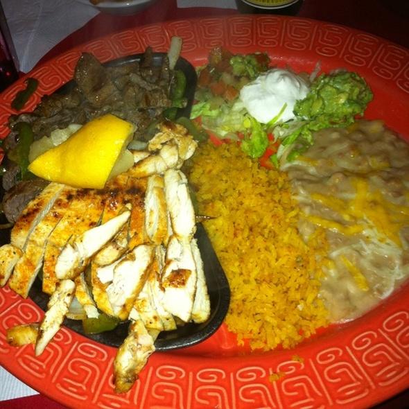 Chicken & Steak Fajitas - Lopez Restaurante y Cantina, Monterey, CA
