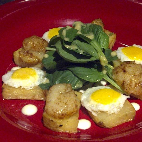 Scallop Salad @ Cafe Verbena