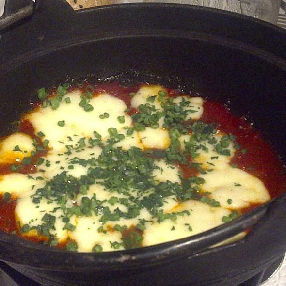 Organic Mozzarella Cheese Pot @ Cafe Verbena