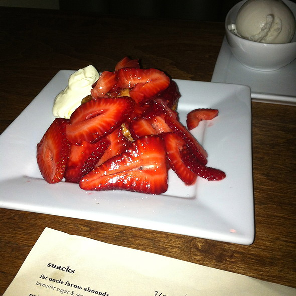 strawberry shortcake - Rustic Canyon Wine Bar, Santa Monica, CA