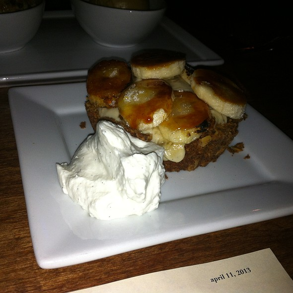 Banana Creme Pie - Rustic Canyon Wine Bar, Santa Monica, CA